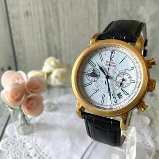 ヴィヴィアンウエストウッド(Vivienne Westwood)の【動作OK】vivienne 腕時計 ダメージ スクイグル ゴールド(腕時計(アナログ))