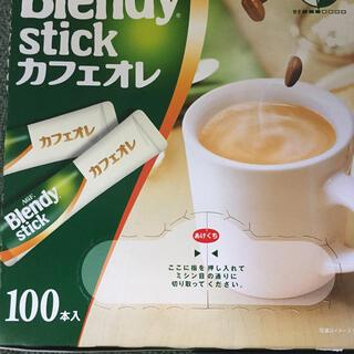 エイージーエフ(AGF)のブレンディ  スティク   カフェオレ79本(インスタント食品)