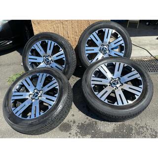 ミツビシ(三菱)の新型デリカD:5純正タイヤ、ホイール4本セット(タイヤ・ホイールセット)