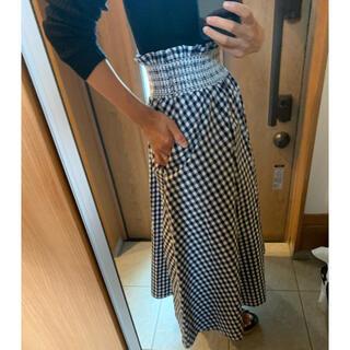 ZARA - ZARA、ギンガムチェックのスカート!美品