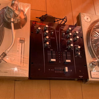 パナソニック(Panasonic)のターンテーブル Technics mk5 vestaxミキサーセット(ターンテーブル)