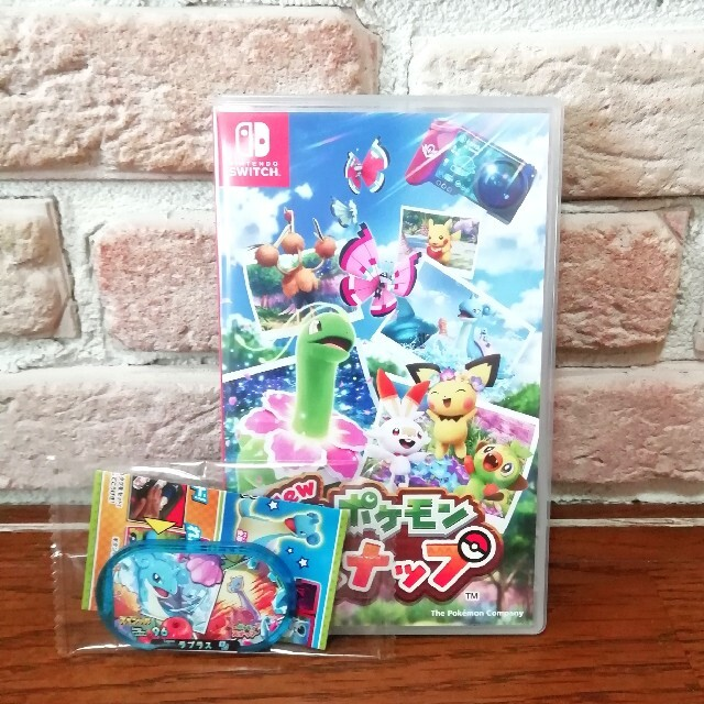 Nintendo Switch(ニンテンドースイッチ)の美品 New ポケモンスナップ エンタメ/ホビーのゲームソフト/ゲーム機本体(家庭用ゲームソフト)の商品写真