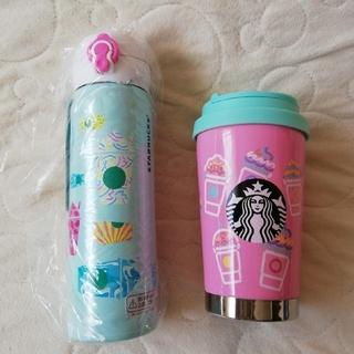 スターバックスコーヒー(Starbucks Coffee)のSTARBUCKS ステンレスボトルセット フラペチーノ(タンブラー)