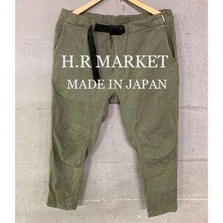 HOLLYWOOD RANCH MARKET - 美品!H.R MARKET クライミングスウェットパンツ!日本製!