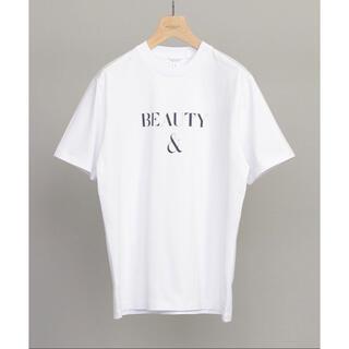 BEAUTY&YOUTH UNITED ARROWS - beauty&youth B&Y Tシャツ ホワイト Mサイズ 送料込み即日発送