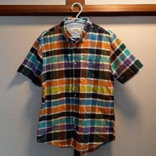 TOMMY - お値引きTOMMY綿シャツ半袖チックL新品未使用