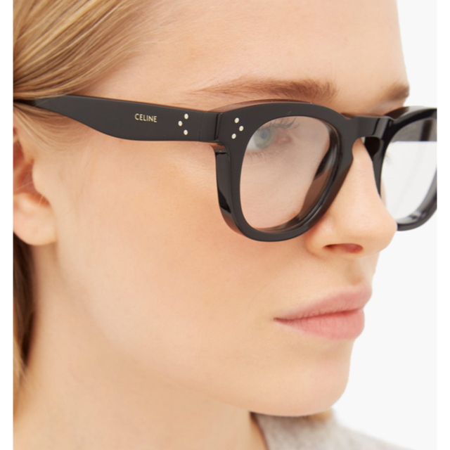 celine(セリーヌ)のCELINE ラウンドメガネ セリーヌ  レディースのファッション小物(サングラス/メガネ)の商品写真