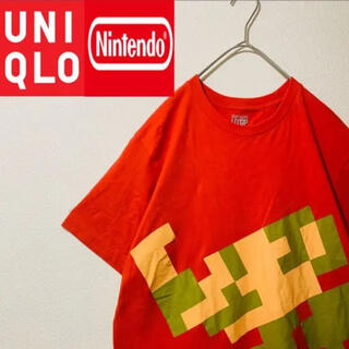 UNIQLO - UNIQLO×Nintendo マリオビッグプリント Tシャツ
