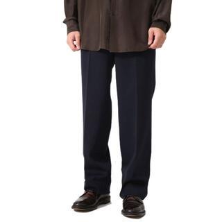 COMOLI - AURALEE light wool max gabardine slacks