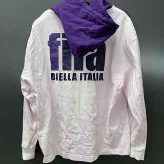 FILA - 【FILA】(フィラ) バックプリントパーカー 古着