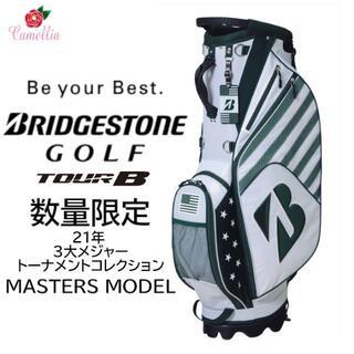 BRIDGESTONE - 新品 ブリヂストン スタンドキャディバッグ マスターズ使用モデル 21年