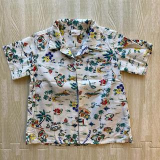 グローバルワーク(GLOBAL WORK)のグローバルワーク アロハシャツ 90(Tシャツ/カットソー)