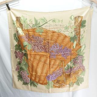 Hermes - Hermes スカーフ カレ90  ブドウの収穫