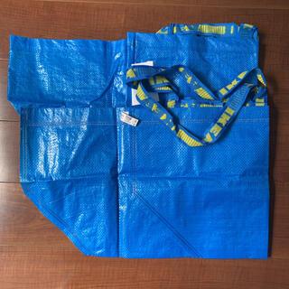 イケア(IKEA)の1783:IKEA フラクタ ブルーバッグ Lサイズ2点(エコバッグ)