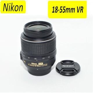 ニコン(Nikon)の❤美品❤Nikon DX AF-S NIKKOR 18-55mm 手振れ補正❤①(レンズ(ズーム))