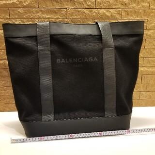 Balenciaga - バレンシアガ BALENCIAGA【NAVY TOTE】トートバッグ 黒