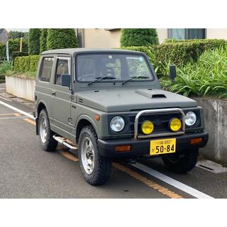 スズキ(スズキ)のジムニー 車検付き AT JA11V サマーウインドー(車体)