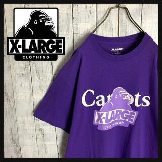 XLARGE - 【即完売☆コラボモデル】エクストララージ センターロゴ刺繍 Tシャツ Lサイズ
