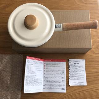 富士琺瑯 14cmミルクパン ハニーウェア