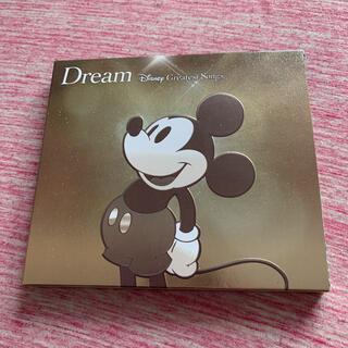 ディズニー(Disney)の【値下げ】ドリーム~ディズニー・グレイテスト・ソングス~ 邦楽盤(ポップス/ロック(邦楽))