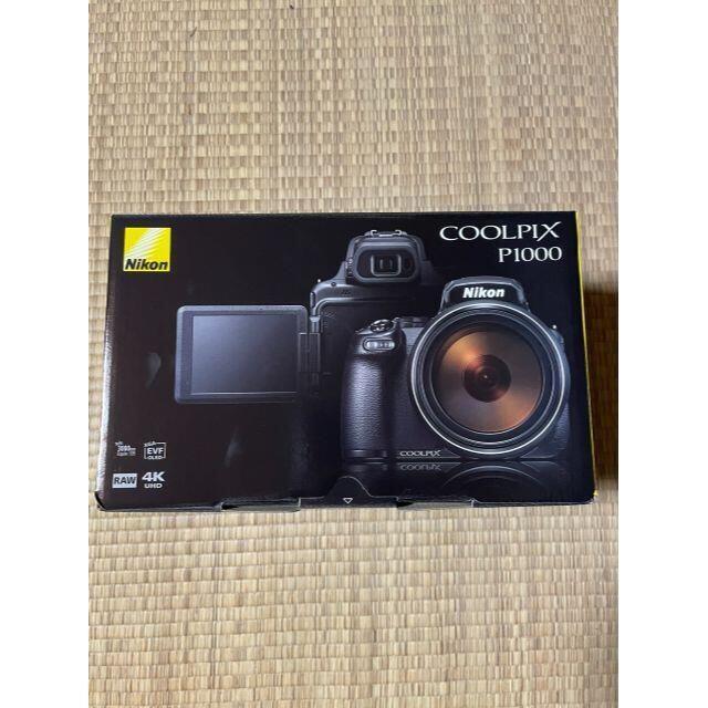Nikon(ニコン)の【新品未開封】ニコン COOLPIX P1000 コンパクトデジタルカメラ スマホ/家電/カメラのカメラ(デジタル一眼)の商品写真