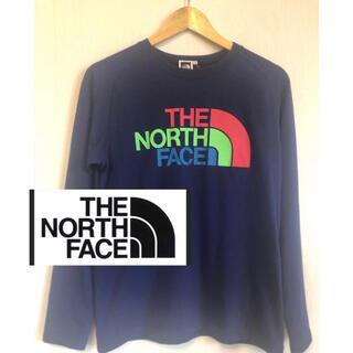 THE NORTH FACE - the north face パープル レディース Tシャツ レインボー