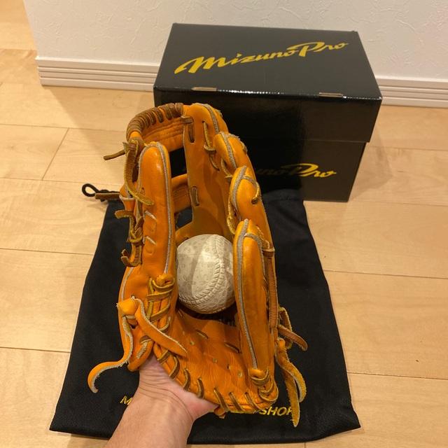 MIZUNO(ミズノ)のミズノプロ 軟式グローブ 内野手用【坂本モデル】 スポーツ/アウトドアの野球(グローブ)の商品写真