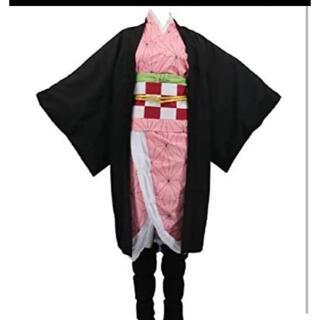 鬼滅の刃 竈門禰豆子 コスプレ 衣装  ハロウィン コスチューム 無限列車(衣装一式)