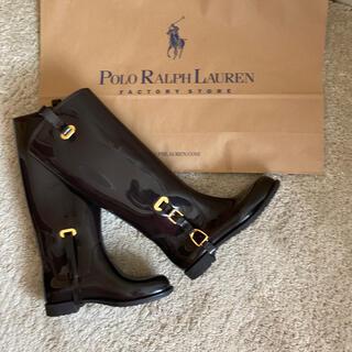 ラルフローレン(Ralph Lauren)の美品 ラルフローレンレインブーツ 値引き‼️(レインブーツ/長靴)