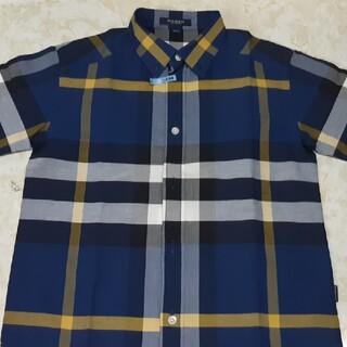 バーバリー(BURBERRY)の130cm男の子BURBERR半袖Yシャツ(Tシャツ/カットソー)