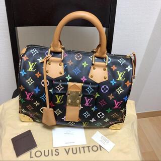 LOUIS VUITTON - 綺麗 マルチカラースピーディルイヴィトンハンドバッグ