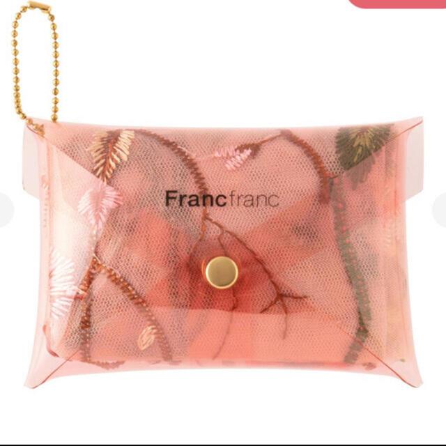 Francfranc(フランフラン)のフランフラン❗️フラワーチュールエコバッグ❗️ レディースのバッグ(エコバッグ)の商品写真
