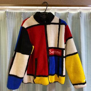 Supreme - Supreme Reversible Fleece Jacket