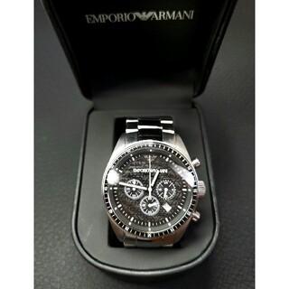 エンポリオアルマーニ(Emporio Armani)の結構美品 エンポリオアルマーニ  AR0585 クロノグラフ(腕時計(アナログ))