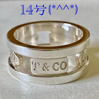 Tiffany & Co. - ティファニー1837オープンリング 14号 美品です(*^^*)