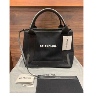 Balenciaga - 新品  バレンシアガ ネイビーカバ  トート 339933 BLACK 正規タグ