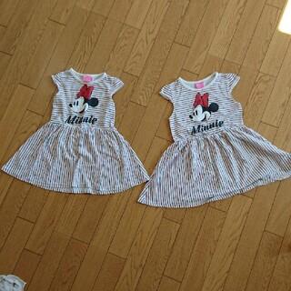 Disney - ミニーちゃんワンピース110-120