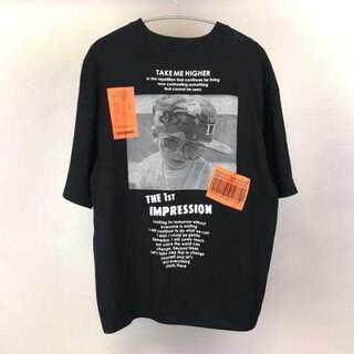 ハレ(HARE)の【neos】ビッグシルエット バックフォトプリント Tシャツ IR(Tシャツ/カットソー(半袖/袖なし))