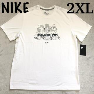 NIKE - 2XL ナイキ 大きいサイズ 半袖Tシャツ NIKE スウッシュロゴ