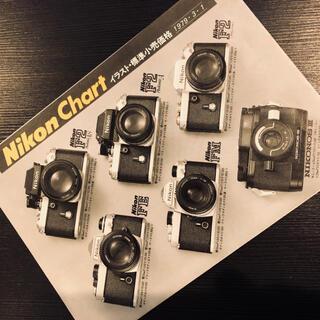 ニコン(Nikon)のNikon チャート 1979年版(フィルムカメラ)