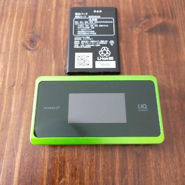 NEC(エヌイーシー)のWiMAX2+ WX06 スマホ/家電/カメラのスマートフォン/携帯電話(その他)の商品写真