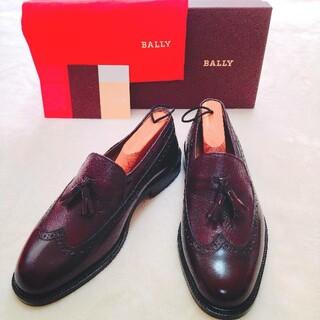 Bally - 未使用❗BALLY バリー タッセルローファー イタリア 本革 箱付き ブラウン