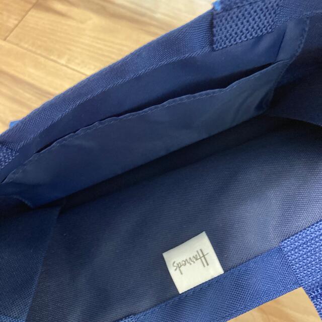 Harrods(ハロッズ)の新品! ハロッズ トートバッグ ネイビー レディースのバッグ(トートバッグ)の商品写真