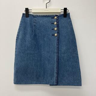 ラルフローレン(Ralph Lauren)のRalph Laurenラルフローレン/デニムスカート(ひざ丈スカート)