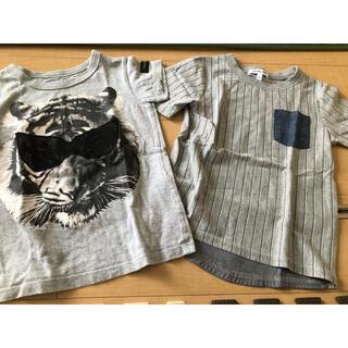 グローバルワーク(GLOBAL WORK)のキッズTシャツ 半袖 100〜110(Tシャツ/カットソー)