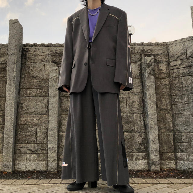 Balenciaga(バレンシアガ)のADERERRORアーダーエラー 19awセットアップ メンズのジャケット/アウター(テーラードジャケット)の商品写真