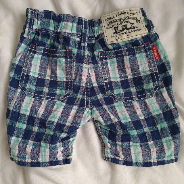 DOUBLE.B(ダブルビー)のダブルビー 半ズボン80 キッズ/ベビー/マタニティのベビー服(~85cm)(パンツ)の商品写真