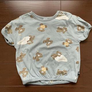futafuta - フタクマ Tシャツ青80