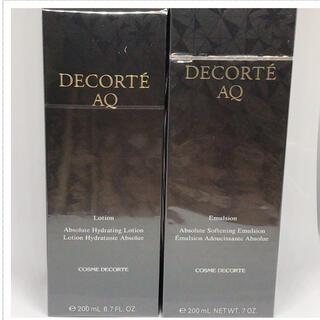 コスメデコルテ(COSME DECORTE)のコスメデコルテ AQローション AQエマルジョン セット(化粧水/ローション)