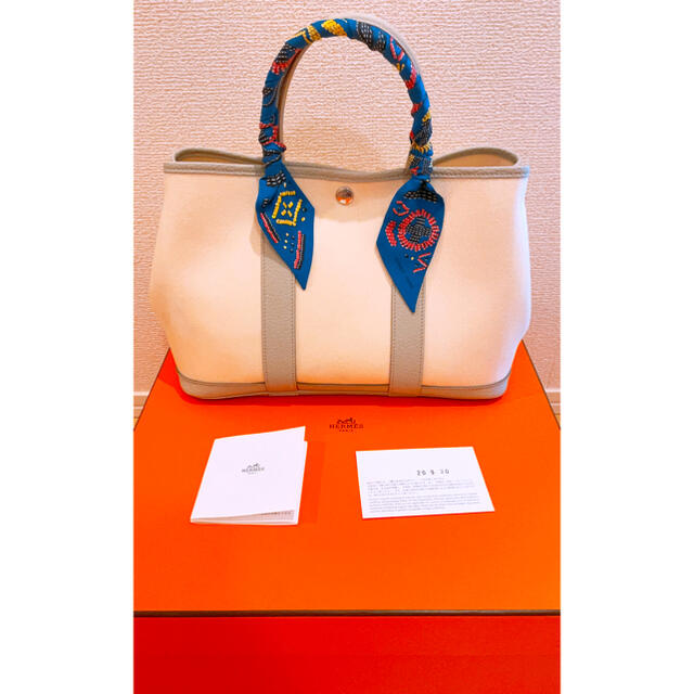 Hermes(エルメス)のガーデンパーティーtpm ナタ×ベトン レディースのバッグ(トートバッグ)の商品写真
